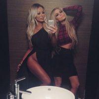 Aubrey O'Day y Carmen Electra Foto:Instagram