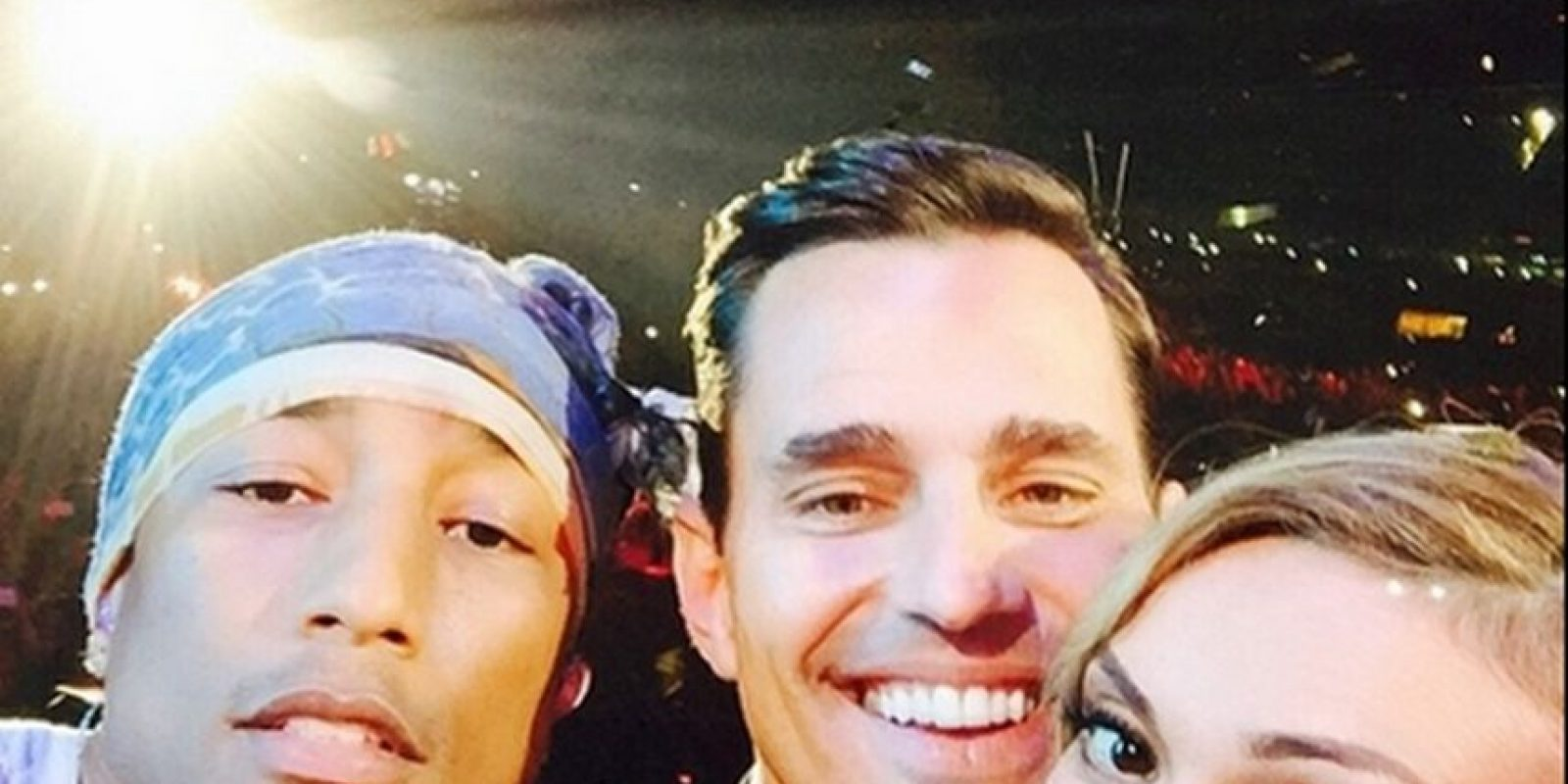 Pharrell, Bill y Giuliana Rancic in Dubái Foto: Instagram
