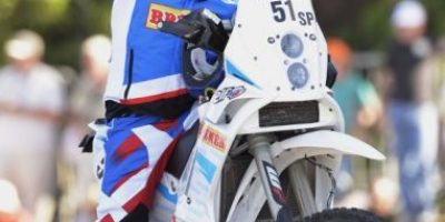 Francisco Arredondo listo para el Rally Dakar 2015
