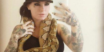 Mira las imágenes de la actriz prono con su animal favorito Foto:Instagram: @christymack