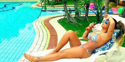 La hermana de Neymar recibe el Año Nuevo con sexy bikini