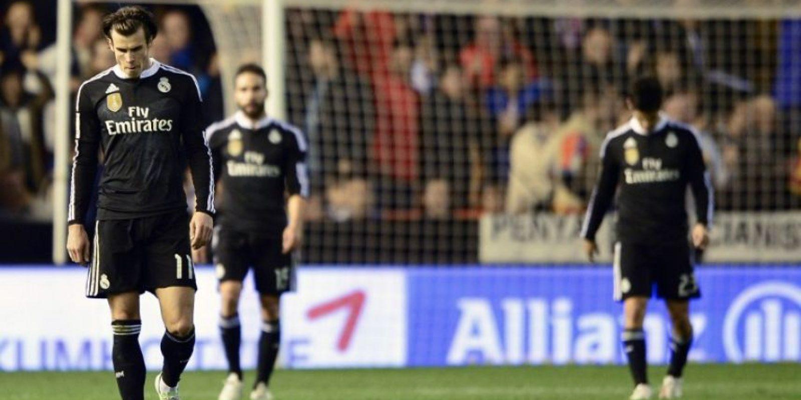 Los blancos cayeron 2-1 con Valencia Foto:AFP