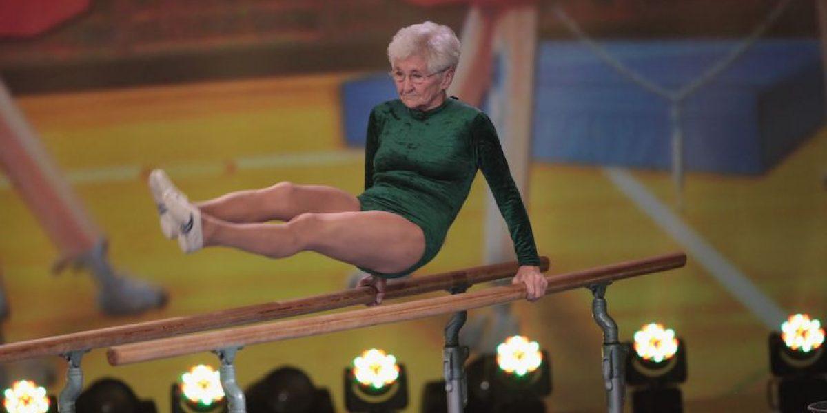 FOTOS: Johanna Quaas, la gimnasta más longeva del mundo