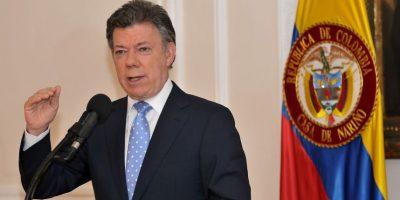 Juan Manuel Santos, de Colombia, estará en el país Foto:Agencias