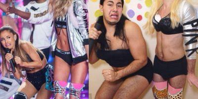 FOTOS: Este hombre imita a las celebridades en Instagram