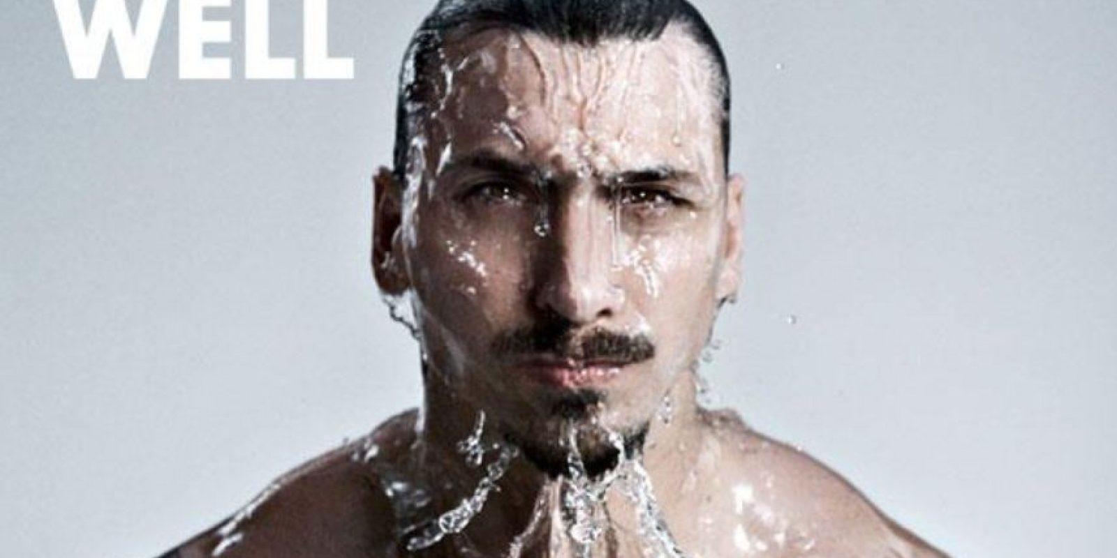 El sueco es el protagonista de un spot de la marca Vitamin Well Foto:Twitter: @Ibra_official