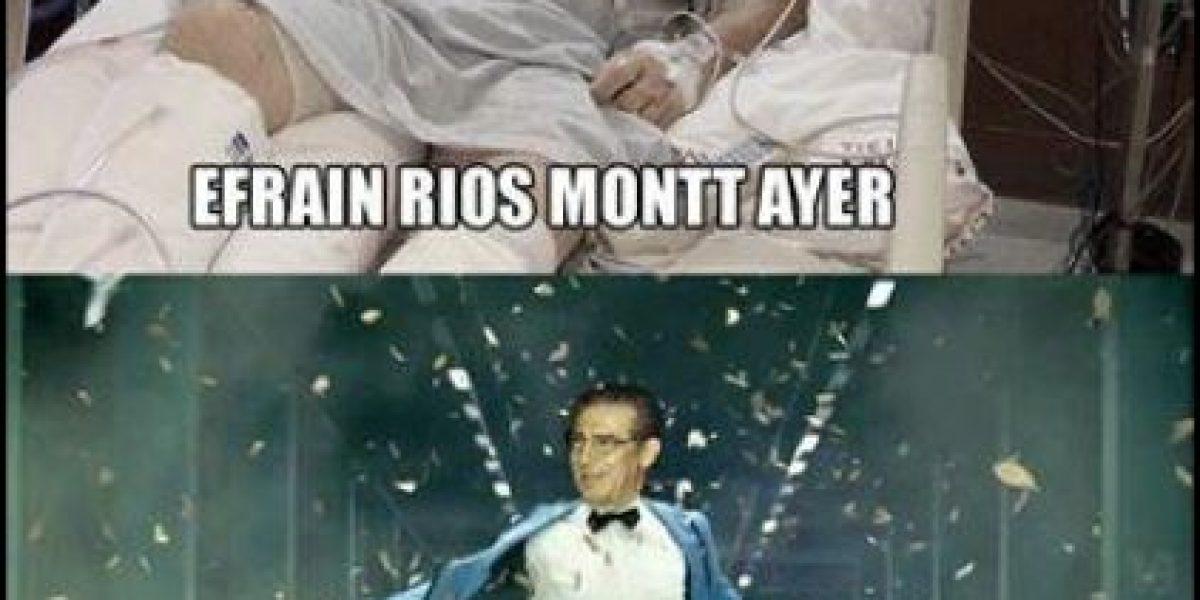 Memes, la otra cara de los procesos en contra de Ríos Montt