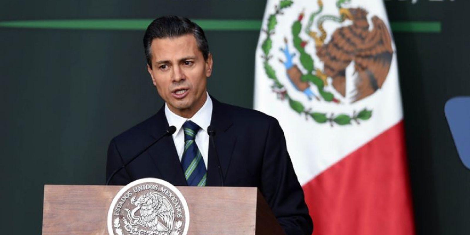 El mandatario Otto Pérez tiene buenas relaciones con su homólogo de México, Enrique Peña Nieto Foto:Agencias