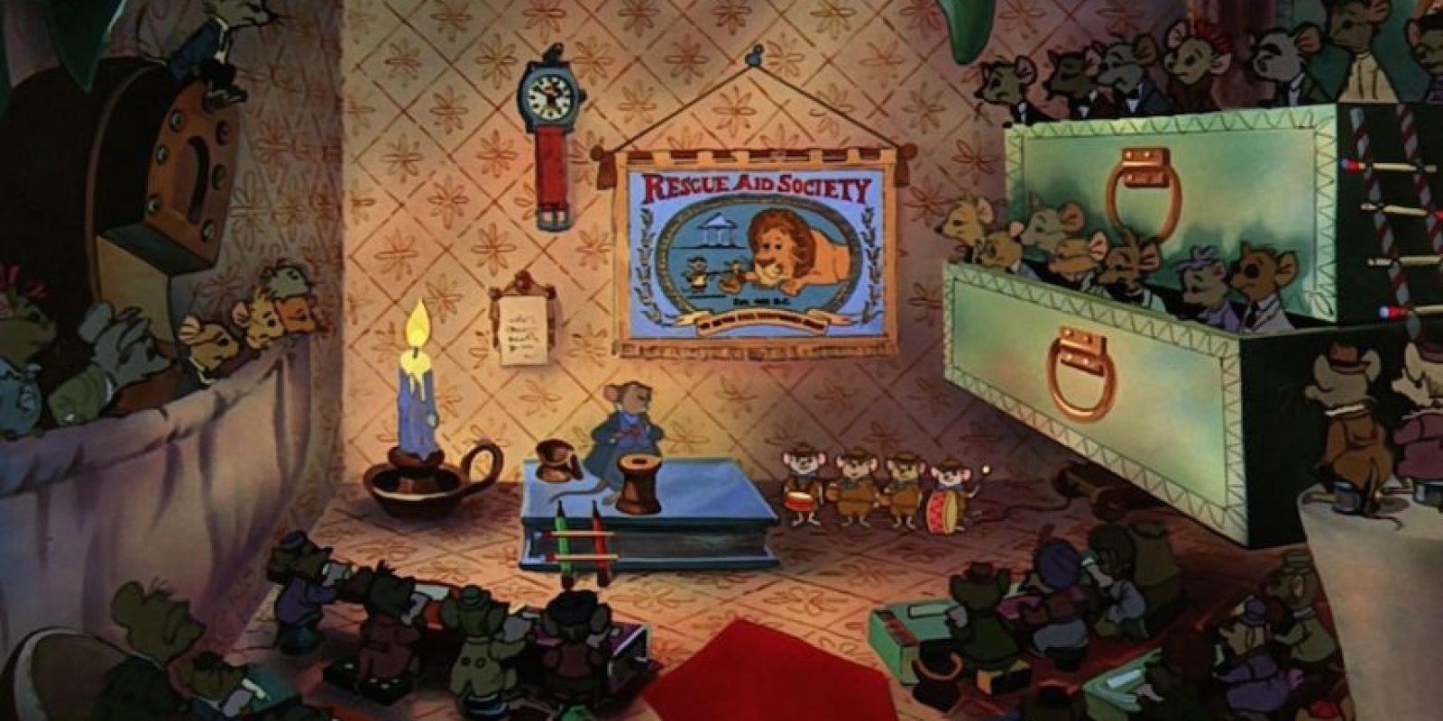 """""""The Rescuers"""" Foto:blogs.disney.com"""