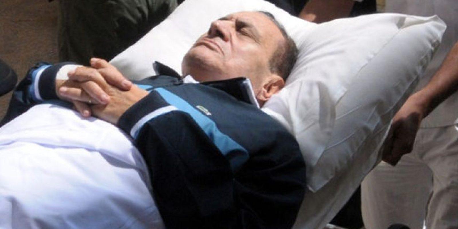 Ex presidente de Egipto Foto:Especial