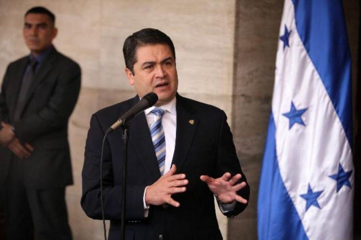 Juan Orlando Hernández, de Honduras, estará de visita en tierras guatemlatecas Foto:Agencias