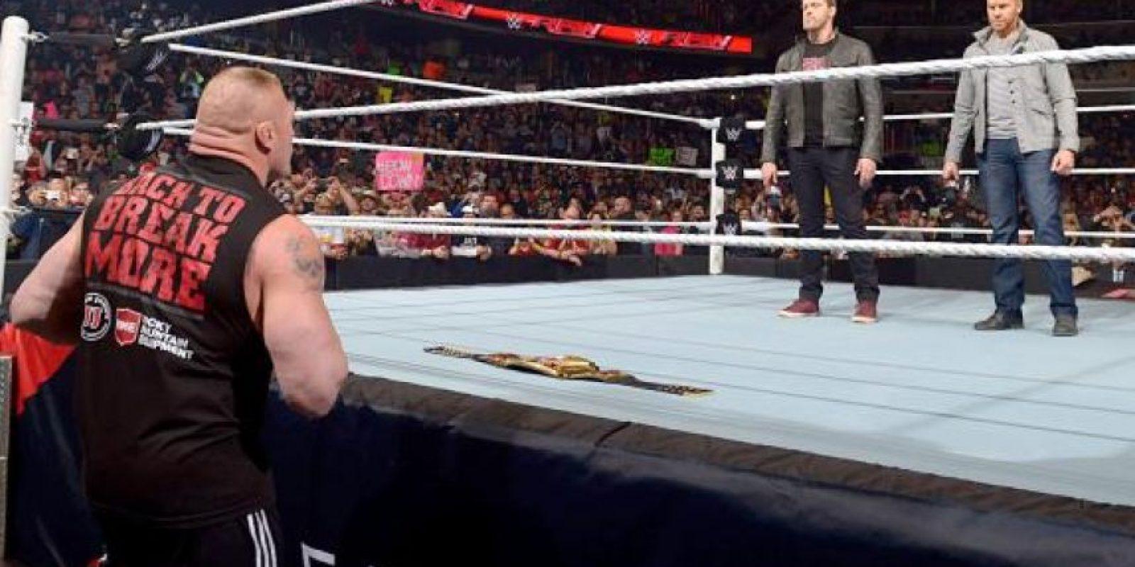 Han pasado más de tres meses desde su última pelea formal Foto:WWE