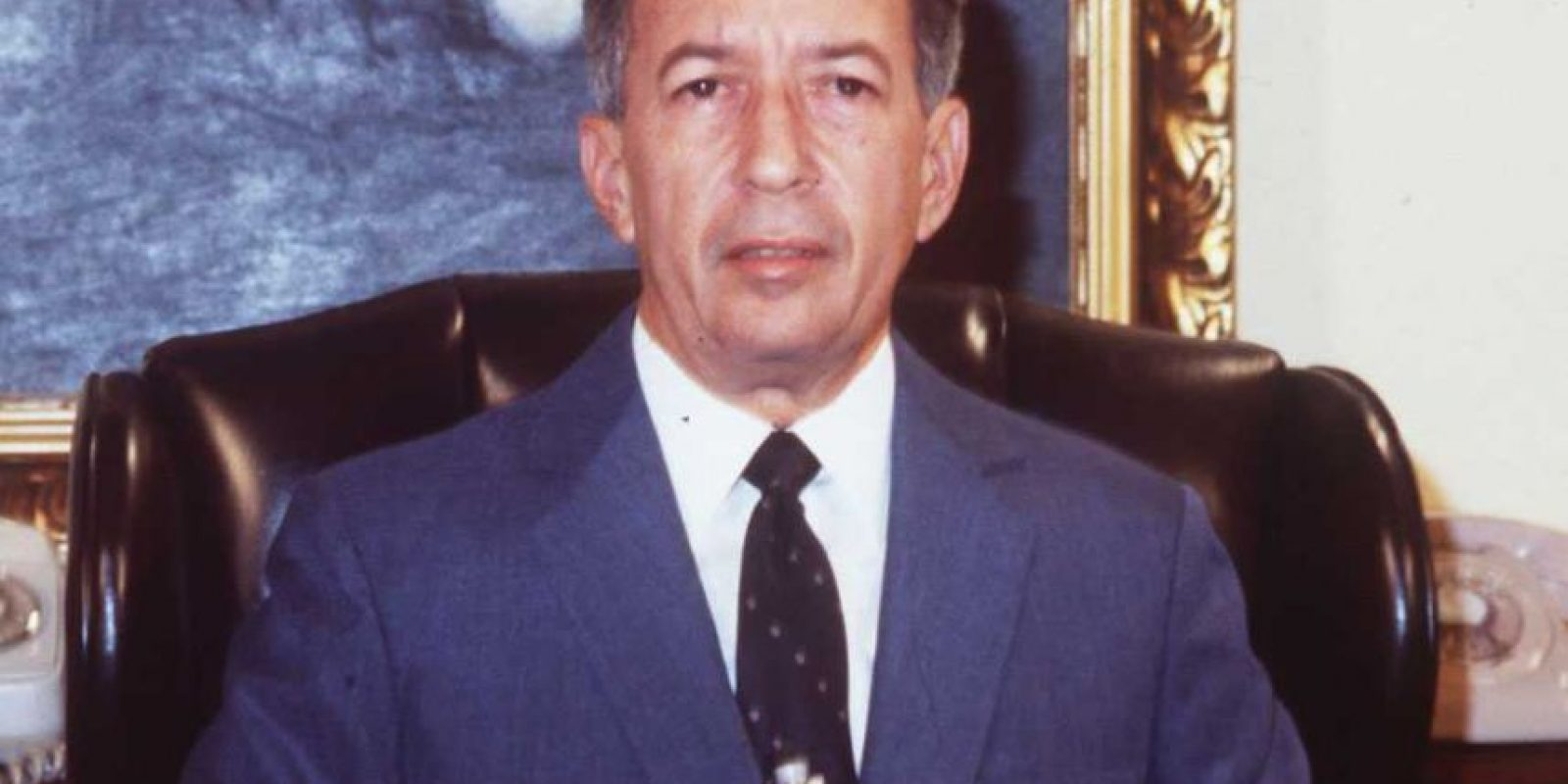 El mandatario dominicano entre 1982 y 1986 fue condenado en 1987 a 20 años de prisión, acusado de enriquecimiento ilícito Foto:Wikimedia