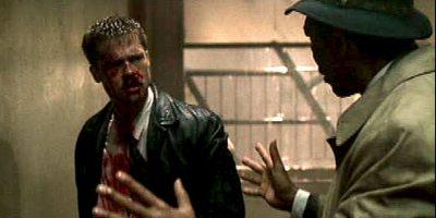 Tenía un gran reparto encabezado por Brad Pitt, Morgan Freeman, Gwyneth Paltrow y Kevin Spacey, David Fincher dirigía este thriller en el que buscaban a un asesino en serie. Lo que tenían en común los asesinatos son los siete pecados capitales: gula, pereza, soberbia, avaricia, envidia, lujuria e ira. Foto:New Line Cinema