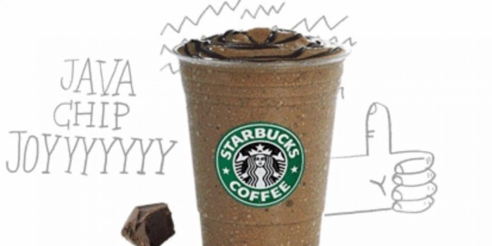2. El Frappuccino del Starbucks. Al principio solo existía en dos sabores, Café y Moca. Ahora Starbucks ha creado más de 25 sabores diferentes Foto:Starbucks