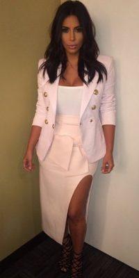 "Su nombre completo es Kimberly ""Kim"" Noel Kardashian Foto:Instagram @kimkardashian"