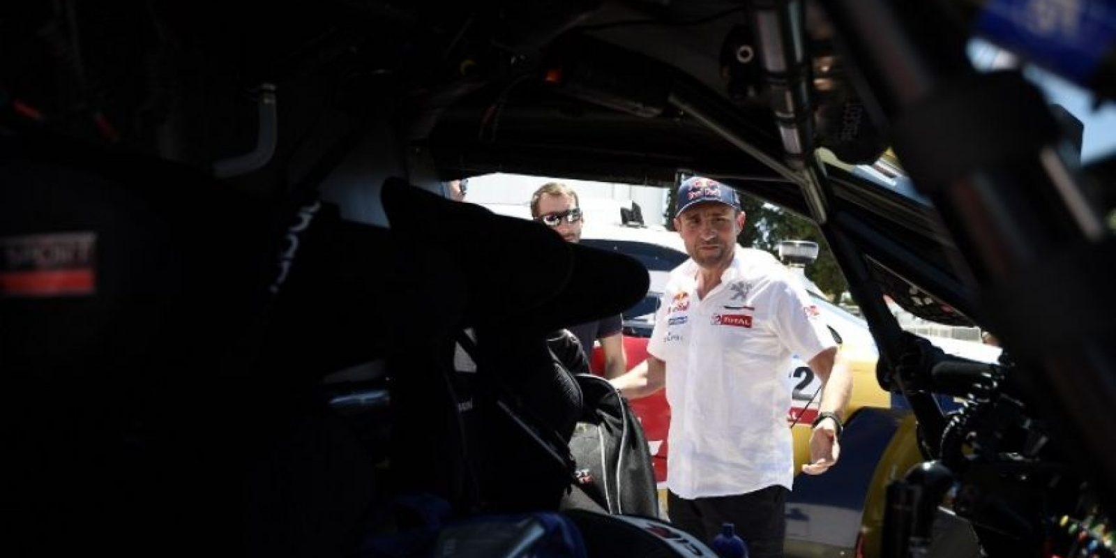 El francés ha ganado 11 Rallys Dakar Foto:Getty