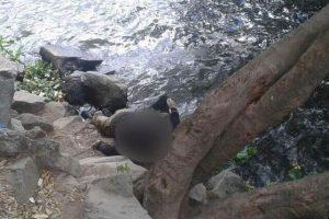 El agente de la Policía Boris Ottoniel Constanza es localizado muerto en el lago de Amatitlán. Foto:CVB