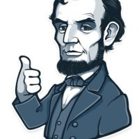 Abraham Lincoln aprueba esto. Foto:Telegram