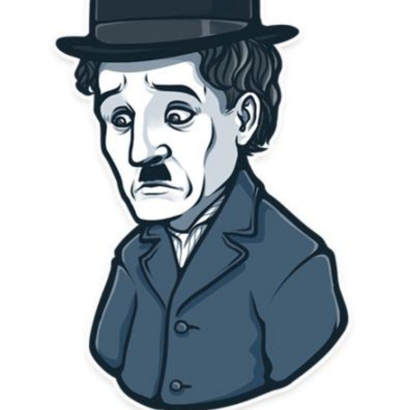 Charlie Chaplin tuvo un mal día. Foto:Telegram