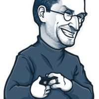 Steve Jobs se ríe a carcajadas. Foto:Telegram