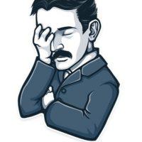 Nikola Tesla no está impresionado. Foto:Telegram