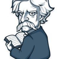 Mark Twain, huh? Foto:Telegram