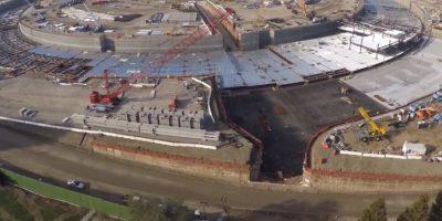 VIDEO: Así se ve el Apple Campus 2 visto desde un drone en 4K
