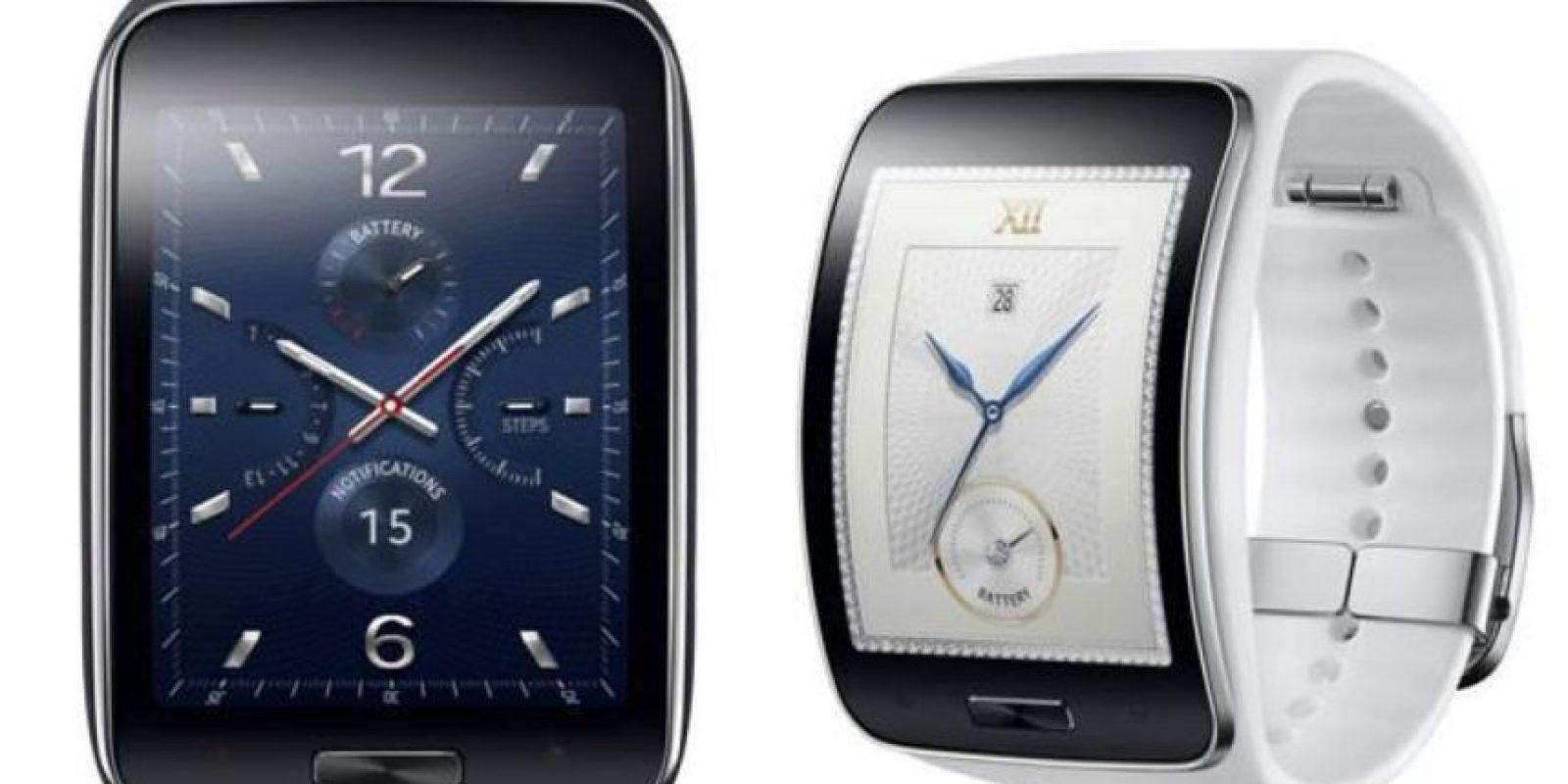 Samsung Gear S se encuentra disponible por 384 dólares. Foto:Samsung