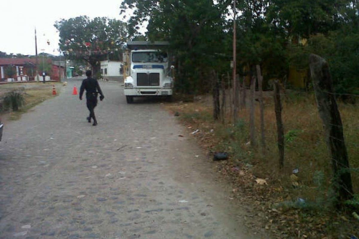 La carga iba oculta en camiones. Foto:PNC