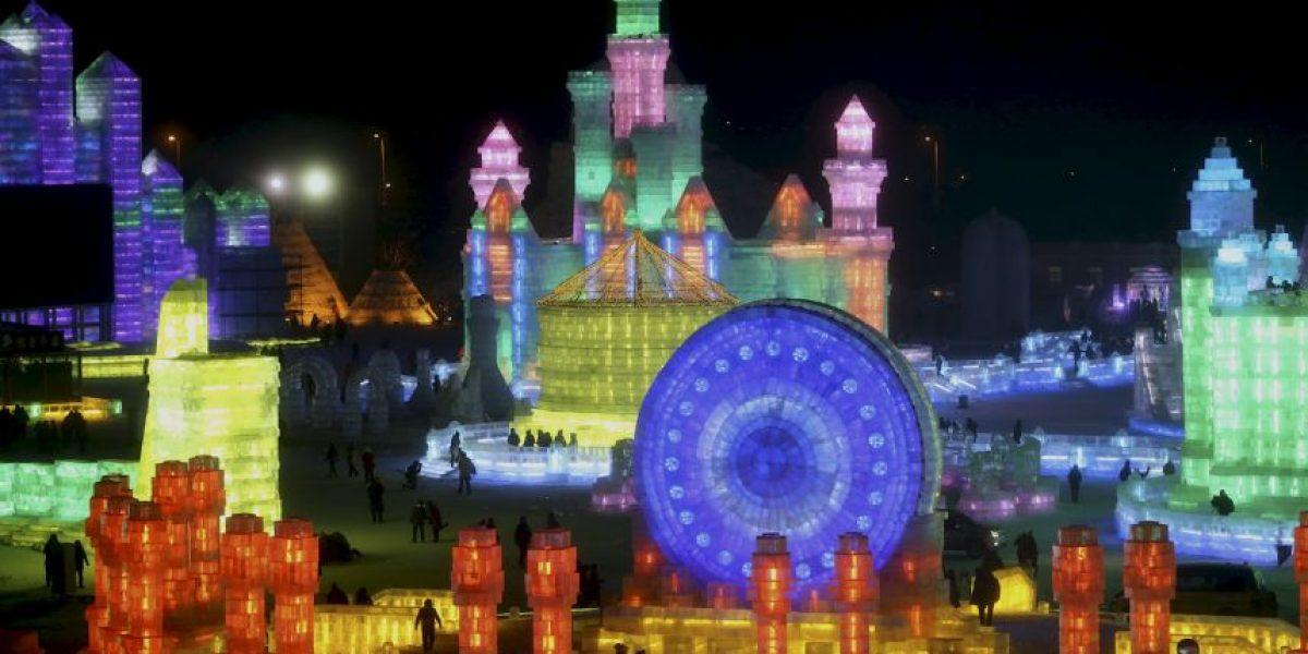 Sorprendente Festival Internacional de Hielo y Nieve en China