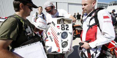 Michal Henrik, de 39 años, murió durante la tercera etapa del recorrido. Foto:EFE