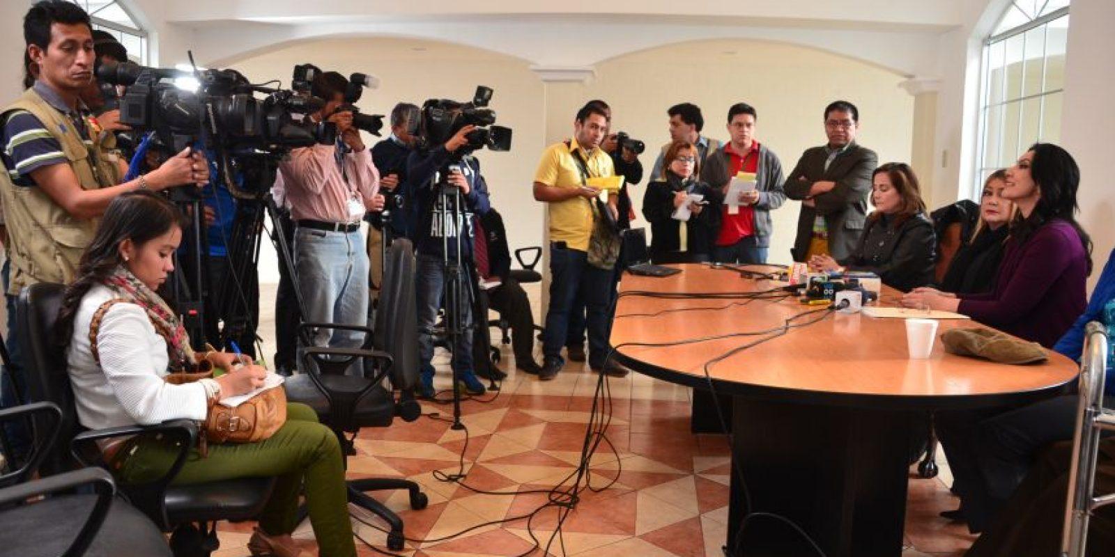 La conferencia la ha realizado en su vivienda. Foto:José Castro