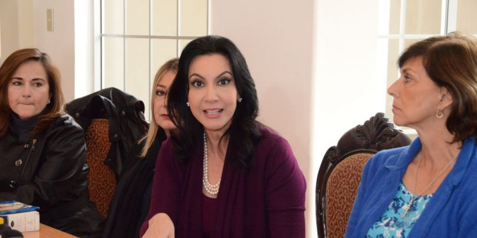 Zury Ríos, hija del exgeneral José Efraín Ríos Montt. Foto:José Castro