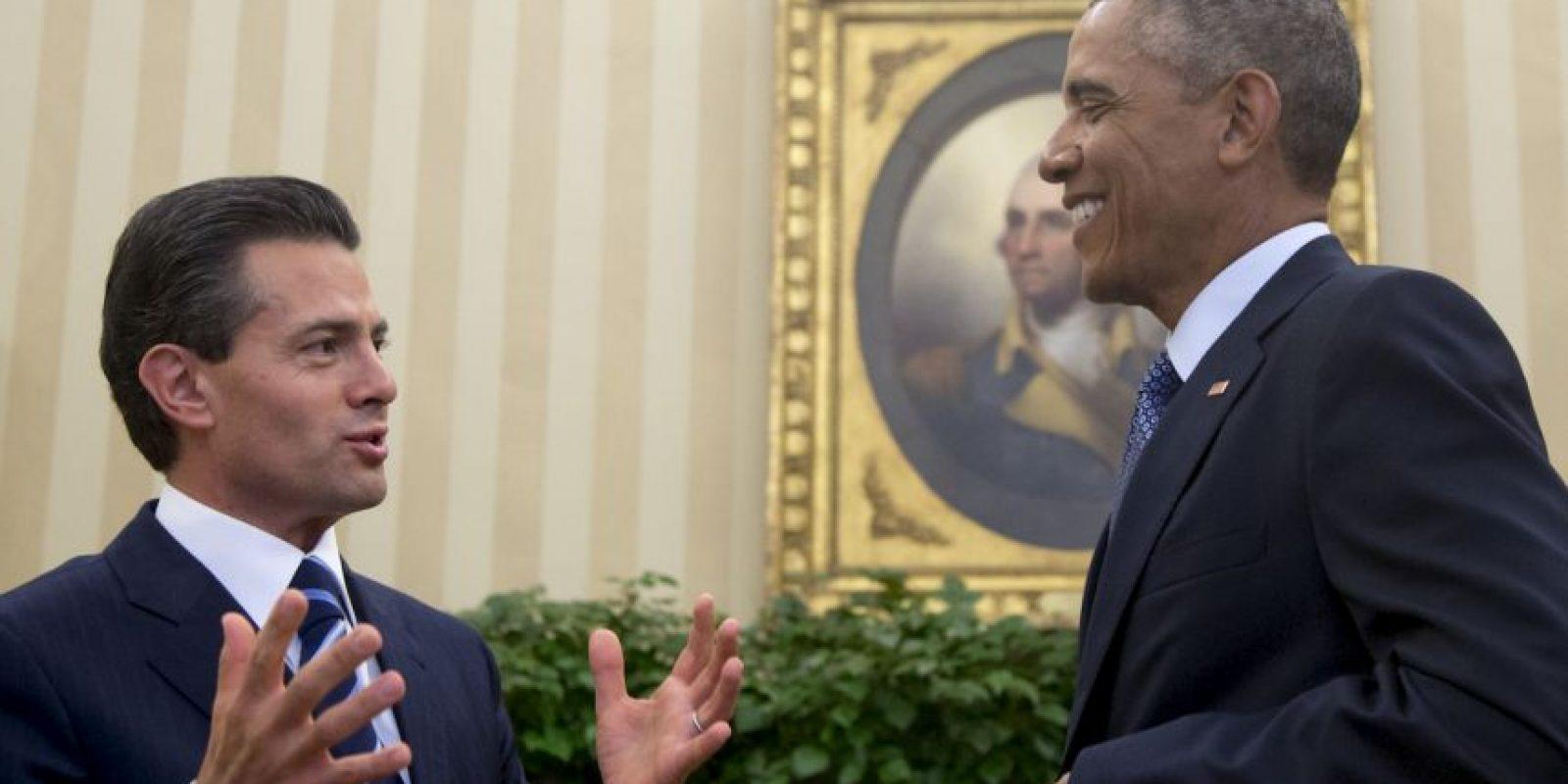 Esta es la primera visita de Peña Nieto a la Casa Blanca como presidente de México. Foto:AP