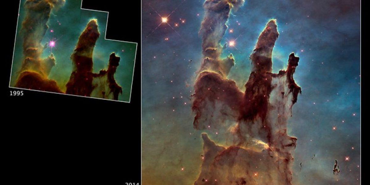 NASA publica fotografías en HD para celebrar 25 años del telescopio Hubble