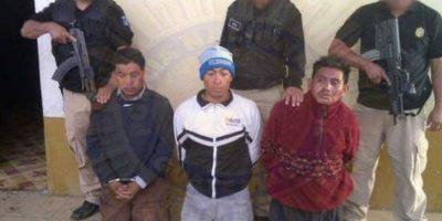 Banda secuestraba a los albañiles y los comerciantes en Totonicapan