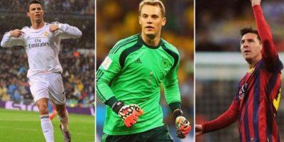 Cristiano y Neuer, más favoritos que Messi para el Balón de Oro