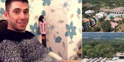 John Whitbread es un soltero inglés de 32 años que tuvo una amarga Navidad, pues su prometida rompió con él antes de esta fecha. Se iban de luna de miel a República Dominicana. Foto:eBay