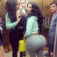 ¿Seguros que adoran los traseros grandes? Foto:Instagram