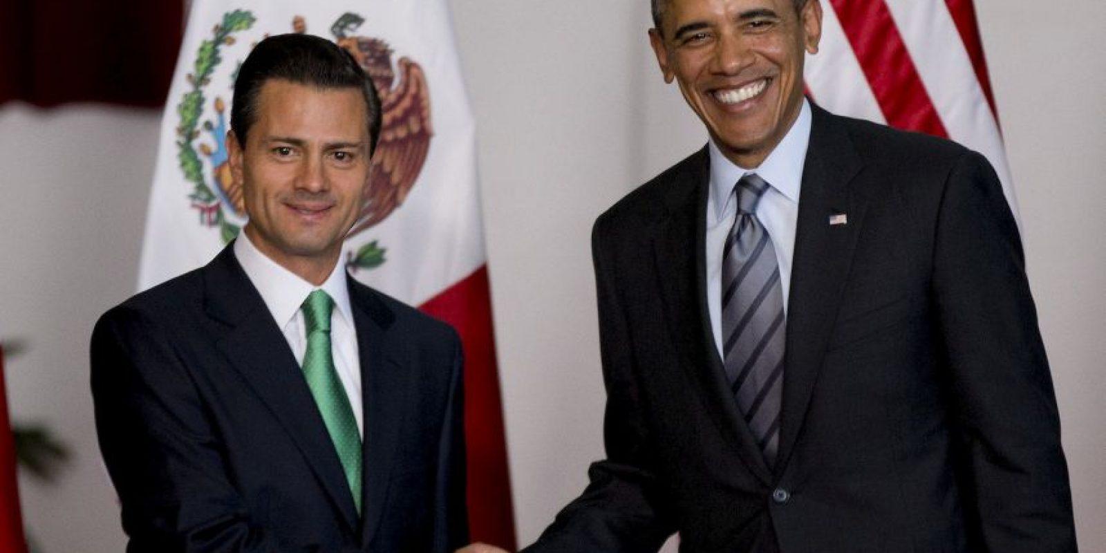 """El presidente mexicano ofreció """"toda la disposición y colaboración"""" en el mejoramiento de la relación de Estados Unidos y Cuba. Foto:AP"""