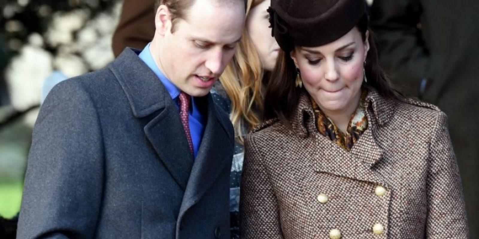 La duquesa de Cambridge espera a su segundo bebé. Foto:AFP