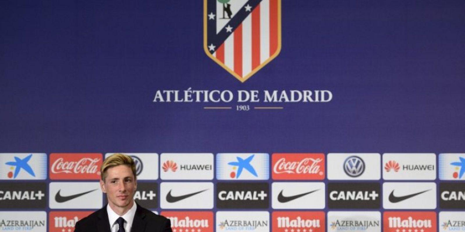 """""""El Niño"""" Torres podría debutar con el Atleti Foto:Getty"""