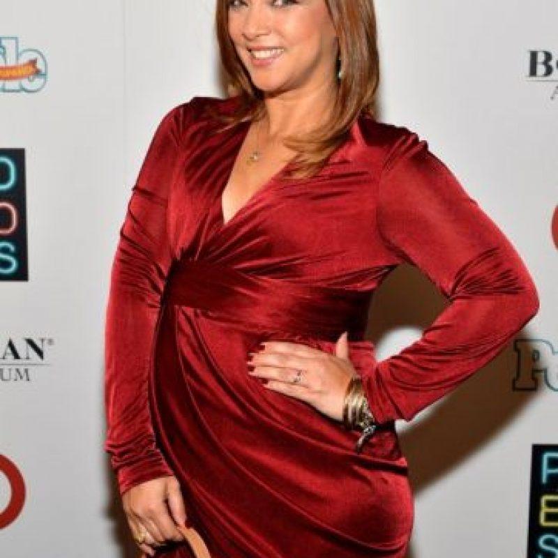 La actriz mexicana dará a luz a su bebé en marzo de 2015. Foto:AFP