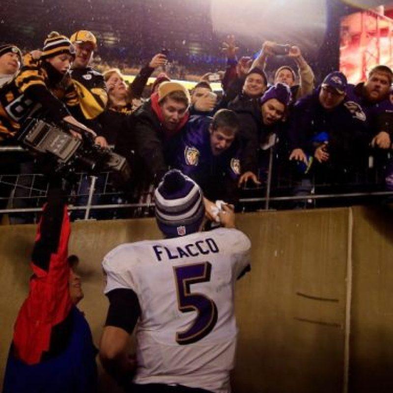 Es quarterback de los Ravens de Baltimore Foto:Getty
