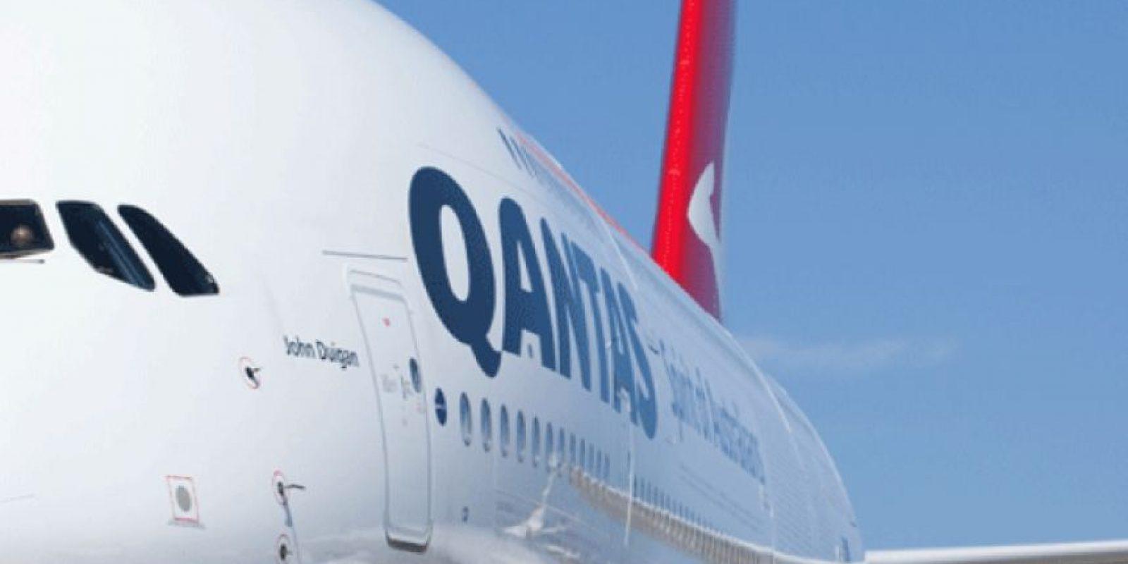 Quantas- Australia Foto:Vía Facebook.com/Qantas