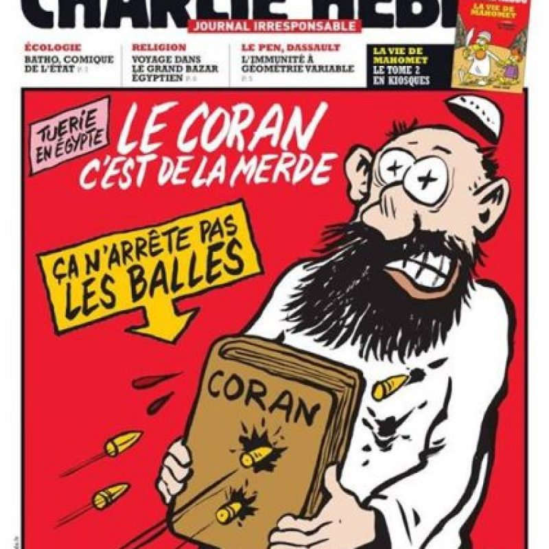 Foto:Facebook: Charlie Hebdo Officiel