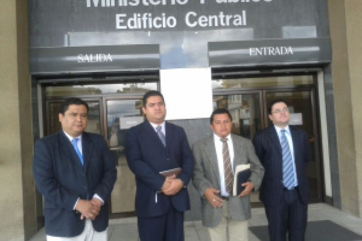 Asociación Nacional de Juristas en Defensa de la Nación. Foto:Asociación Nacional de Juristas en Defensa de la Nación