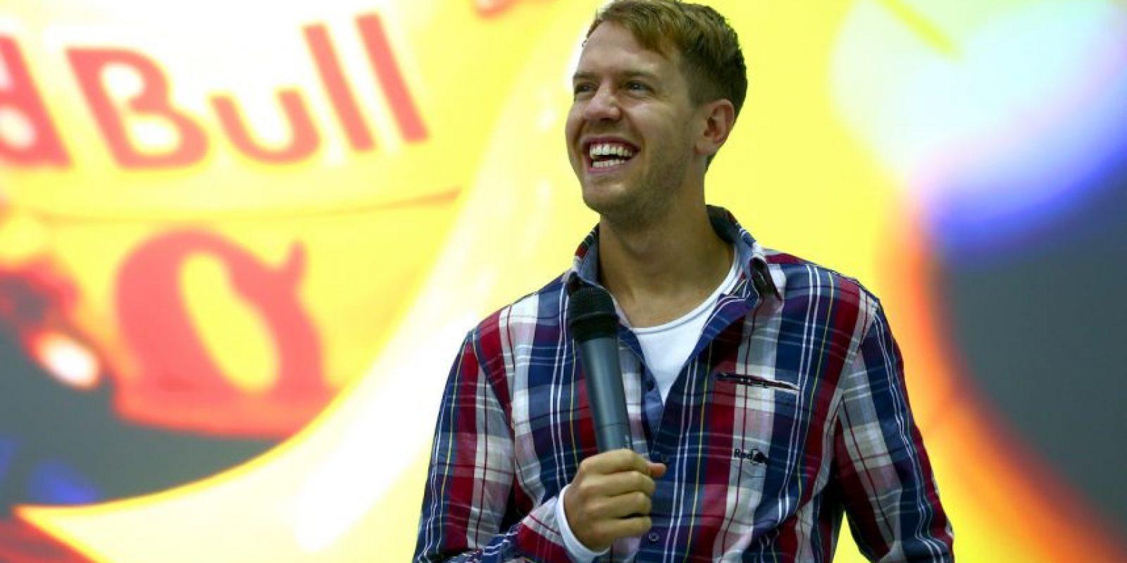 Sebastian Vettel. A sus 27 años ha sido campeón de F1 en cuatro oportunidades Foto:AFP