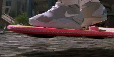 """Así se veían los tenis en """"Back to the Future"""" Foto:Universal Pictures"""